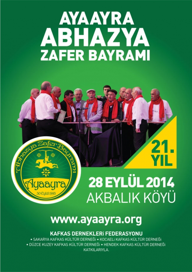Ayaayra: Let's Celebrate Abkhazia's Independence